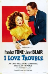 I Love Trouble 1948 DVD - Franchot Tone / Janet Blair